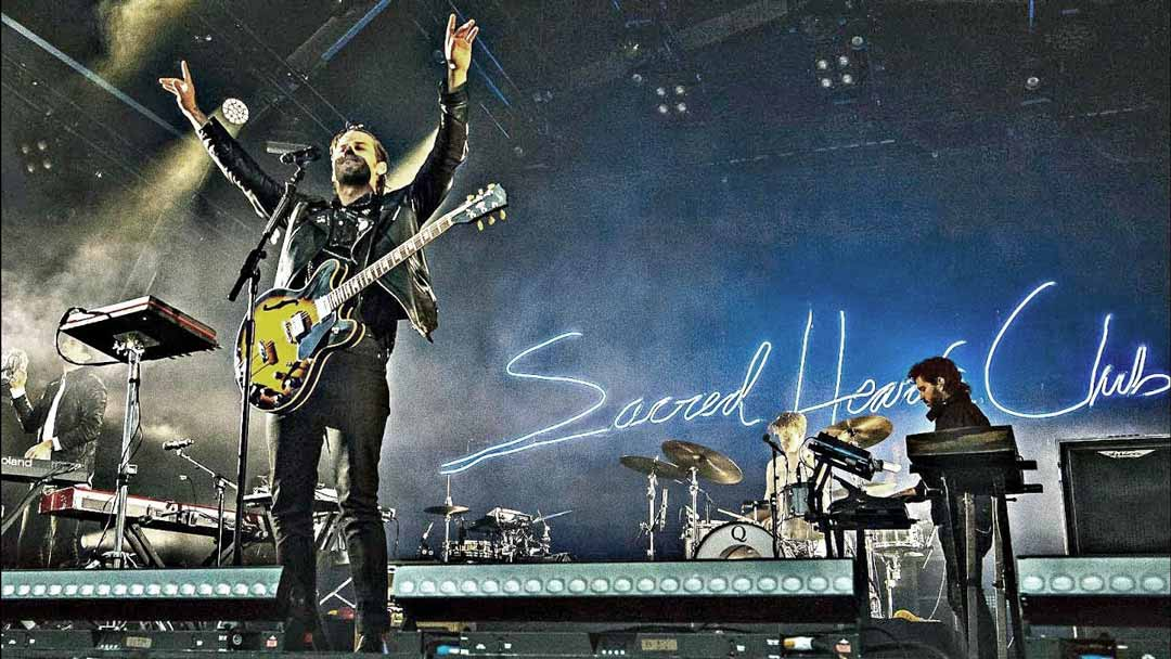 Foster the People live for Sacred Hearts Club