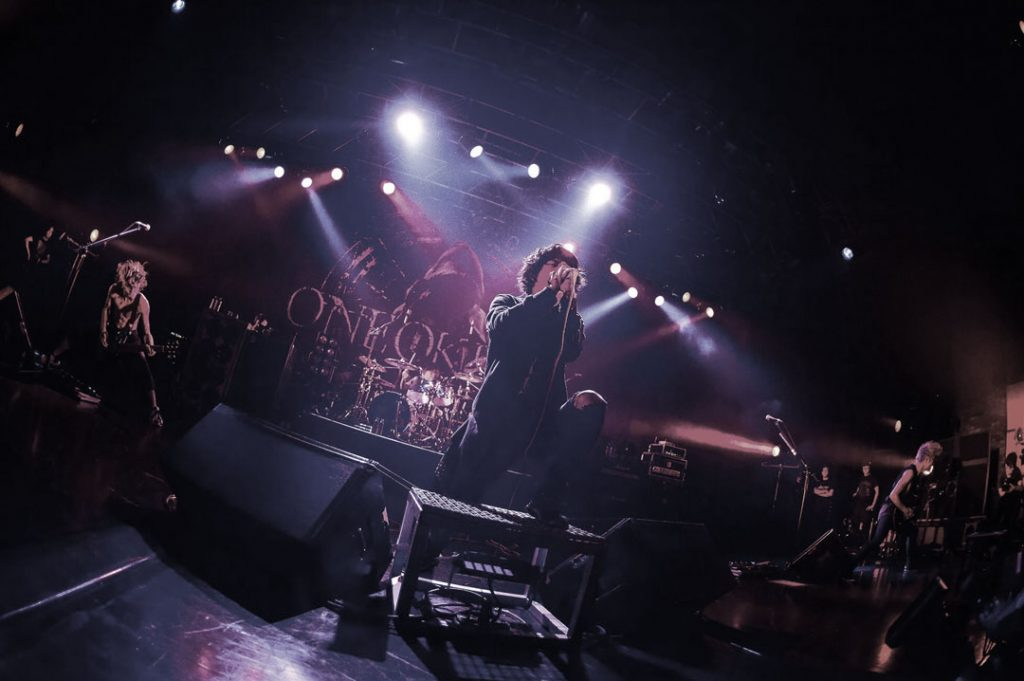 J-rock band ONE OK ROCK performing live.