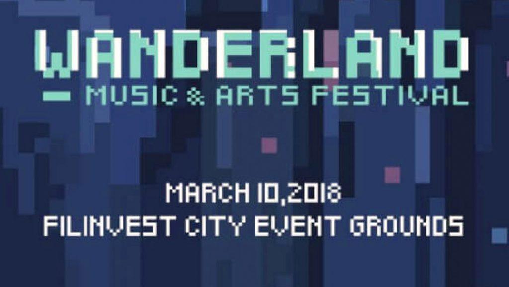 Wanderland Pixels Festival 2018 poster