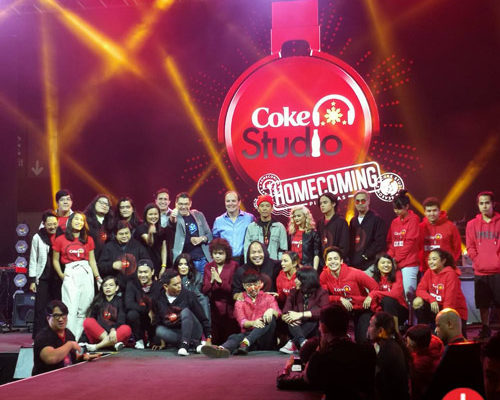 OPM artists for the Coke Studio Homecoming Season 2 show.