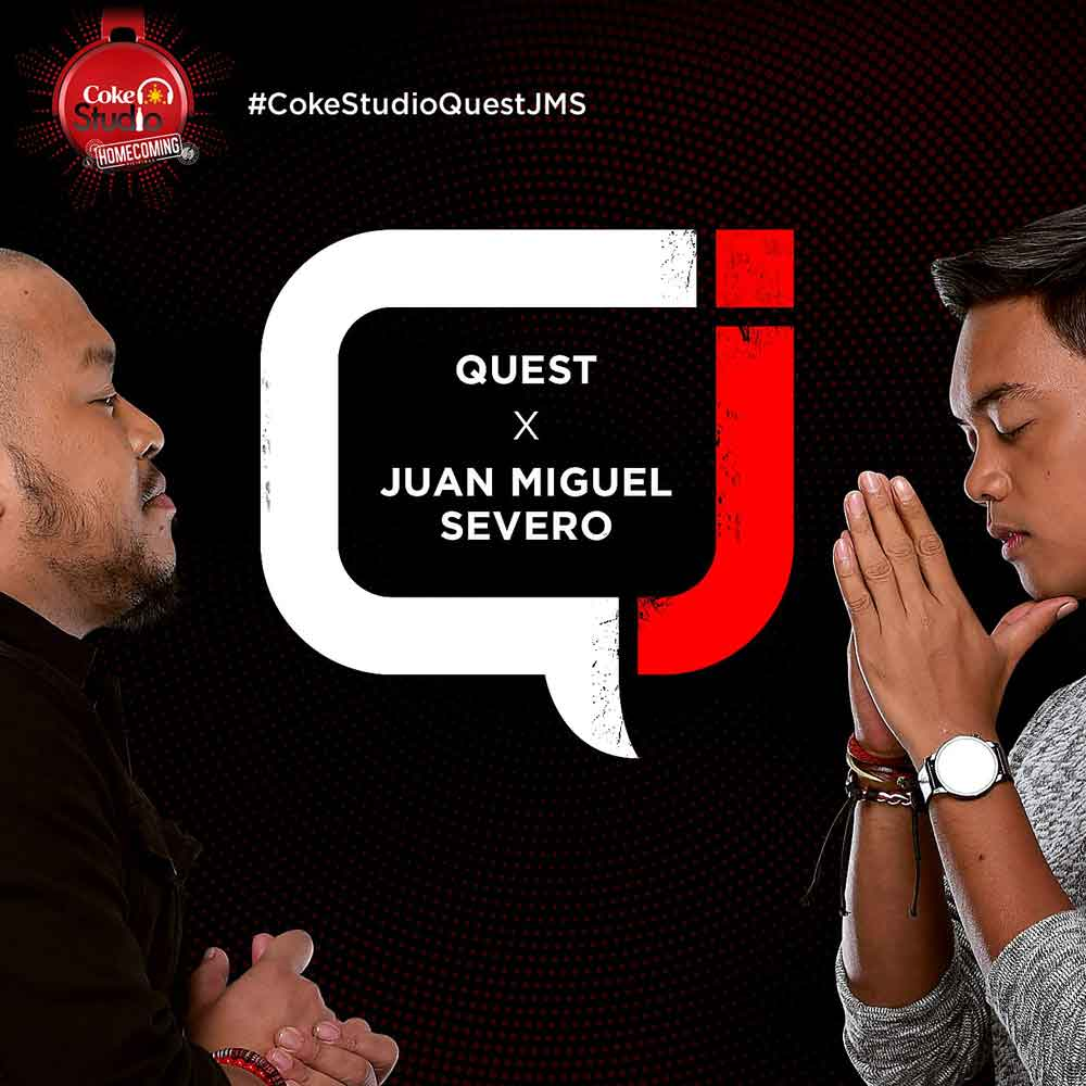 Juan Miguel Severo and Quest collaborate for Coke Studio Philippines