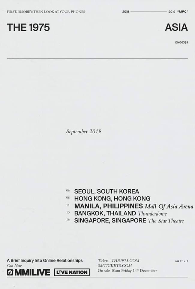 The 1975 Live in Manila 2019